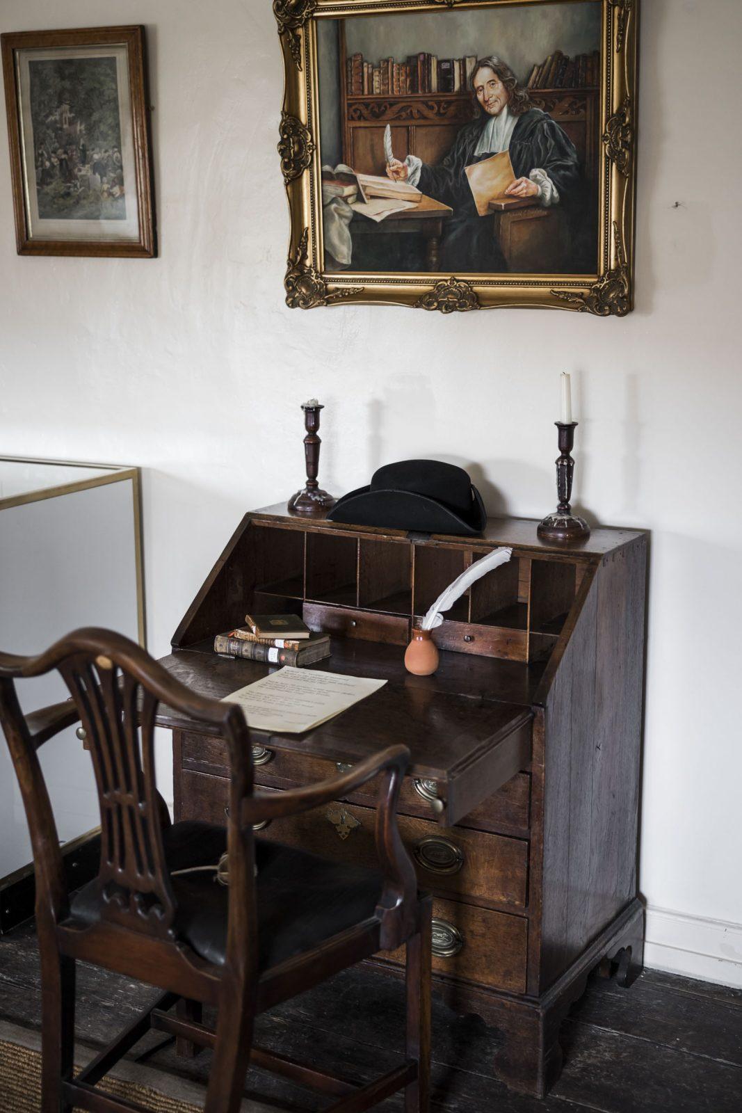 Samuel's desk