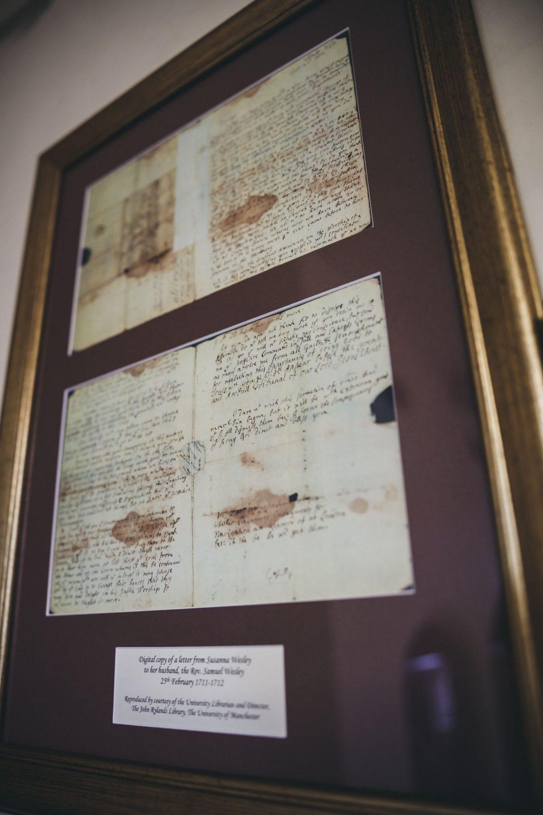 Susanna's letter