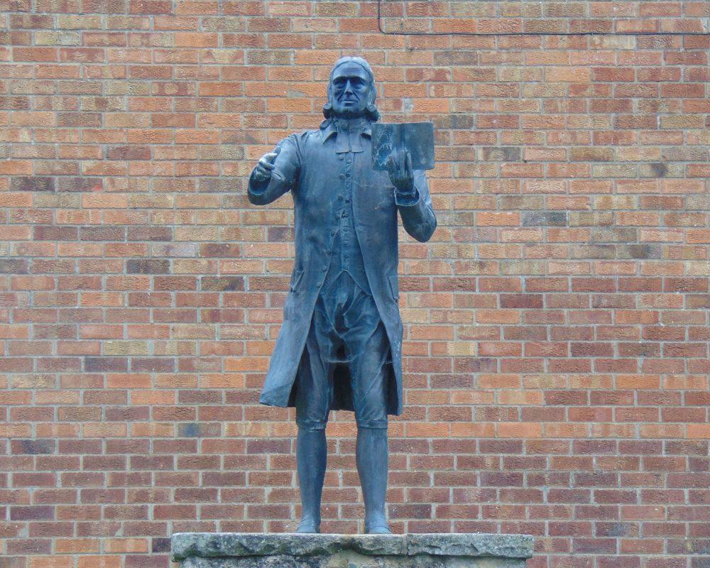 Wesley Statue Wesley Trail